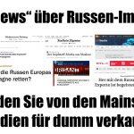 """""""Fake News"""" über Russen-Impfstoff: So werden Sie von den Mainstream-Medien für dumm verkauft!"""